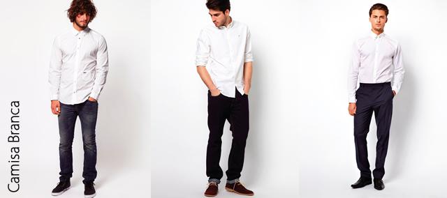 c17ba3380 As camisas brancas são básicas e versáteis